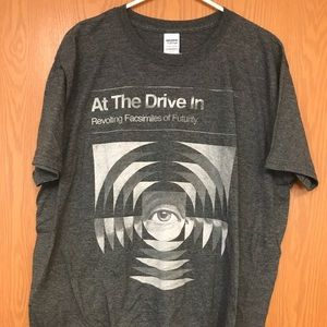 COPY - At the Drive In-  XL Grey T- shirt.